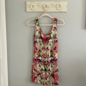 Pink, Floral Mimi Chica Dress